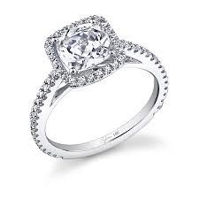 cushion cut diamond engagement rings classic cushion cut diamond engagement ring