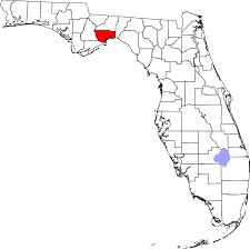 Florida Rivers Map by National Register Of Historic Places Listings In Wakulla County