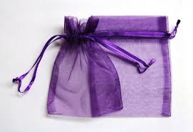 organza favor bags 36 organza favor gift bags 3 x4 purple buy online in