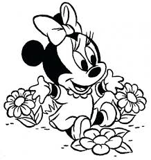 coloring pages of minnie mouse and daisy duck coloring page coloring pages of minnie mouse baby daisy duck and