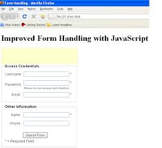 html input pattern alphanumeric improved form handling using javascript