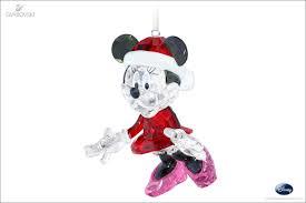 swarovski disney minnie mouse christmas ornament