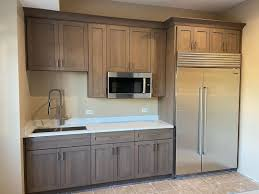 gray stained kitchen cupboards cabinet stain colors and how to coordinate them