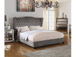 Suede Bed Frame Otter Suede Bed Shop For Affordable Home Furniture Decor