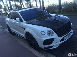 mansory bentley mansory bentley bentayga spotted prior to debut