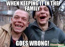 Family Photo Meme - when keeping it in the family goes wrong meme ugly twins 57934