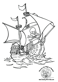 jake neverland pirates coloring book pirate ship pages pdf