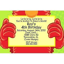 elmo birthday unique elmo birthday party invitations for birthday invites