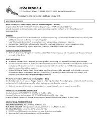 Free Resume Examples musician resume examples