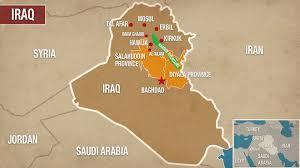 Iraq Province Map The Iraq Report Threat Of Civil War As Kurdish Independence Loom