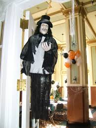 furniture u0026 accessories easy halloween decorating ideas entryway