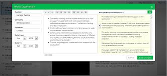 Online Resume Tool by Online Resume Builder Professional Resume Builder Outstanding