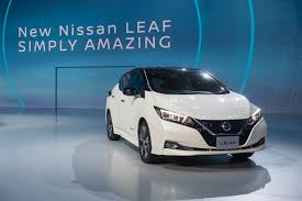 nissan leaf tire size up close with the 2018 nissan leaf the verge