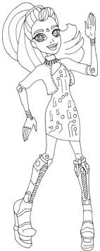 monster high coloring pages frights camera action monster high cleo de nile monster high coloring pages