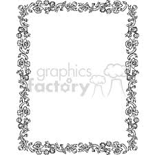 document frame royalty free document frame for a baby shower 134019 vector clip