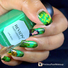 preciouspearlmakeup jungle book nail art
