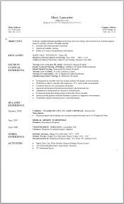 Sample Objectives In A Resume by Admission Resume Professional Resumes For Students 9 Nursing