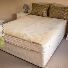 genuine medical sheepskin mattress pad bed underlay
