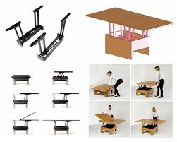 lift up coffee table mechanism with spring assist 45 best height adjustable tables images on pinterest folding