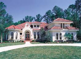 exterior spanish mediterranean style with roof in spanish and