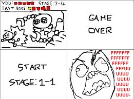Game Over Meme - game over rage video gaming pinterest rage comics troll meme