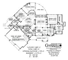 luxury ranch floor plans tranquility luxurious mountain house plan