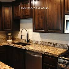 What Is A Kitchen Backsplash Diy Kitchen Backsplash U2013 Hawthorne And Main