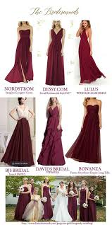 burgundy dress for wedding and gold wedding inspiration and ideas