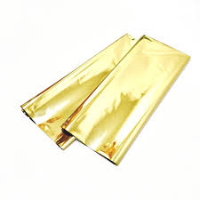 gold mylar tissue paper gold mylar metallic gold mylar wrapping paper 12 sheets gold