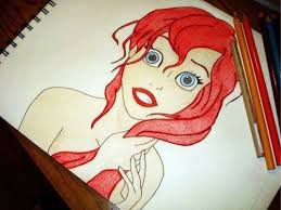ariel mermaid drawing jackyzred 2017 nov 5 2012