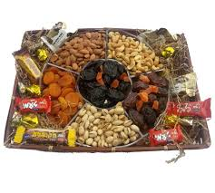 fruit and nut baskets deluxe dried fruit nuts basket g30 84 99 gilisgoodies