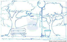sketches for park background sketch www sketchesxo com
