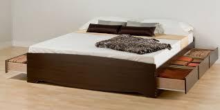 king platform bed frame with drawers best 25 platform bed with