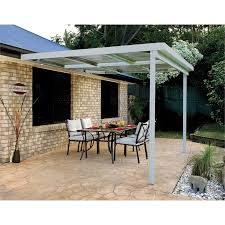 Awnings Warehouse Absco Sheds 3 0 X 3 0 X 3 00m W50 Awning Zincalume Bunnings