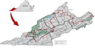 Virginia Map Counties by Coal Heritage Trail Virginia Is For Lovers
