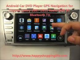 toyota camry 2007 audio system android auto dvd system for toyota camry 2007 2011 car gps radio