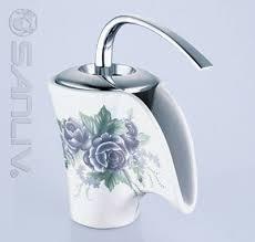 tremendeous dragon design ceramic bathroom faucet 28501 waterfall