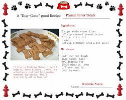 recipes for dog treats peanut butter dog treats recipe all the way from pembroke maine