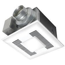 Bathroom Exhaust Fan Light Panasonic Deluxe 80 Cfm Ceiling Bathroom Exhaust Fan With Cfl