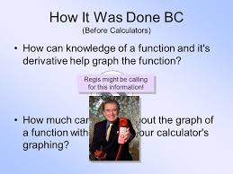using derivatives to sketch the graph of a function lesson ppt