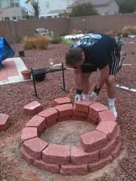 build cinder block fire pit how to build your own fire pit