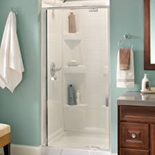How To Install A Shower Door On A Bathtub Pivoting Shower Door Installation Delta Faucet Installation Guide