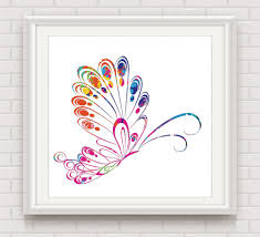 online shop watercolor butterfly decorative pictures watercolor