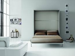 Wall Mounted Folding Shelf Bedroom Furniture Fold Down Double Bed Murphy Bed With Shelves