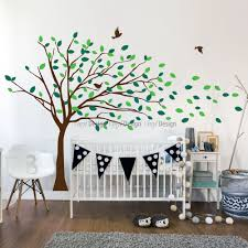 kids blowing tree wall decal wall decals blowing tree wall decal