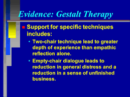 What Is Empty Chair Technique Gestalt Therapy Slides Created By Barbara A Cubic Ph D