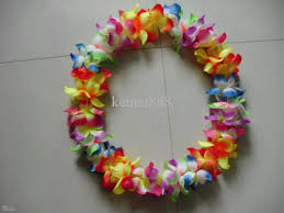 2017 wholesale supplies hawaiian flower garland wreath