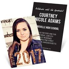 high school graduation invites graduation invitations custom designs from pear tree