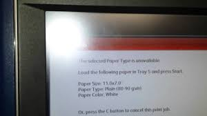 xerox c60 c70 busled fiery custom page size print test youtube
