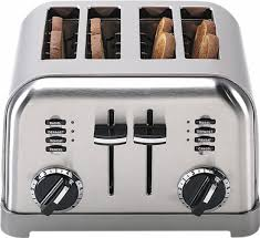 Best Small Toaster Cuisinart 4 Slice Toaster Silver Cpt 180 Best Buy